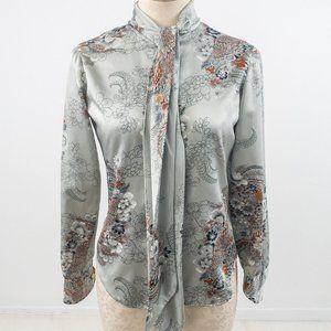 Vintage Women\u2019s Disco Blouse Large
